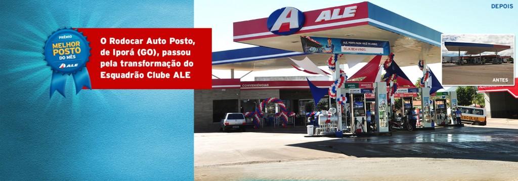 Clube ALE dá banho de loja no Rodocar Auto Posto