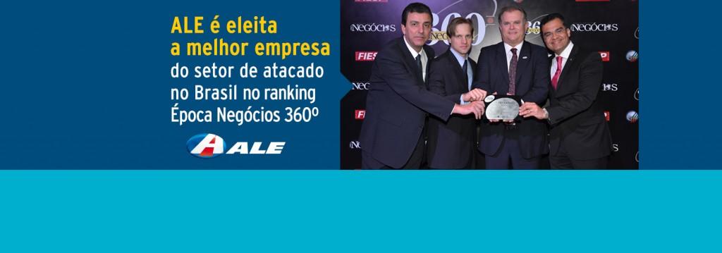 ALE é eleita a melhor empresa do setor de atacado no Brasil