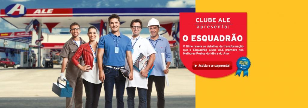 Confira os detalhes que o Esquadrão Clube ALE promove nos Melhores Postos do Mês e do Ano