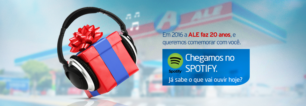 ALE lança canal exclusivo de músicas on-line