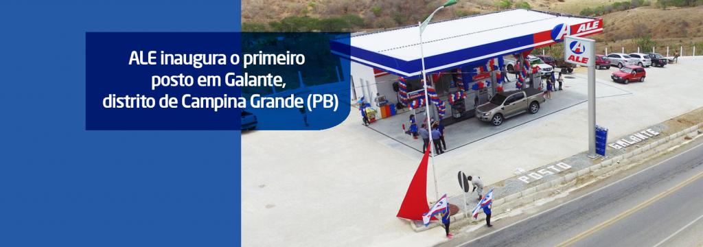 Distrito de Galante, em Campina Grande (PB), recebe primeiro posto ALE