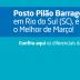 Posto Pilão Barragem, em Rio do Sul, SC, ganha como Melhor Posto de março