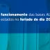 Confira o funcionamento das bases ALE no feriado do dia 20/11