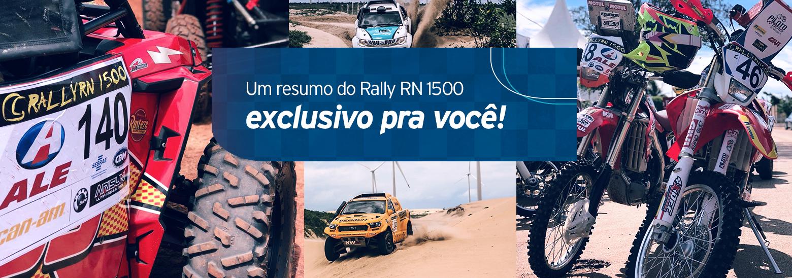 Um resumo do Rally RN 1500 exclusivo pra você!
