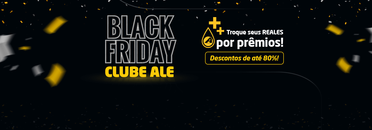 Black Friday Clube ALE