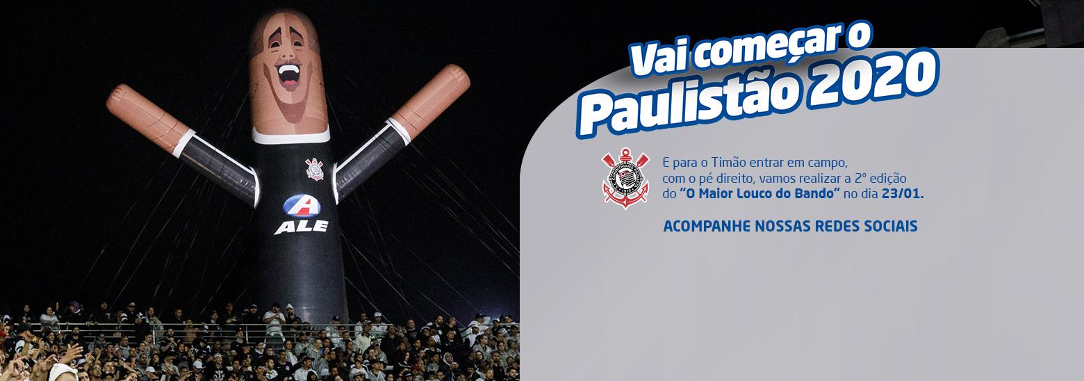 Vai começar o Paulistão 2020!