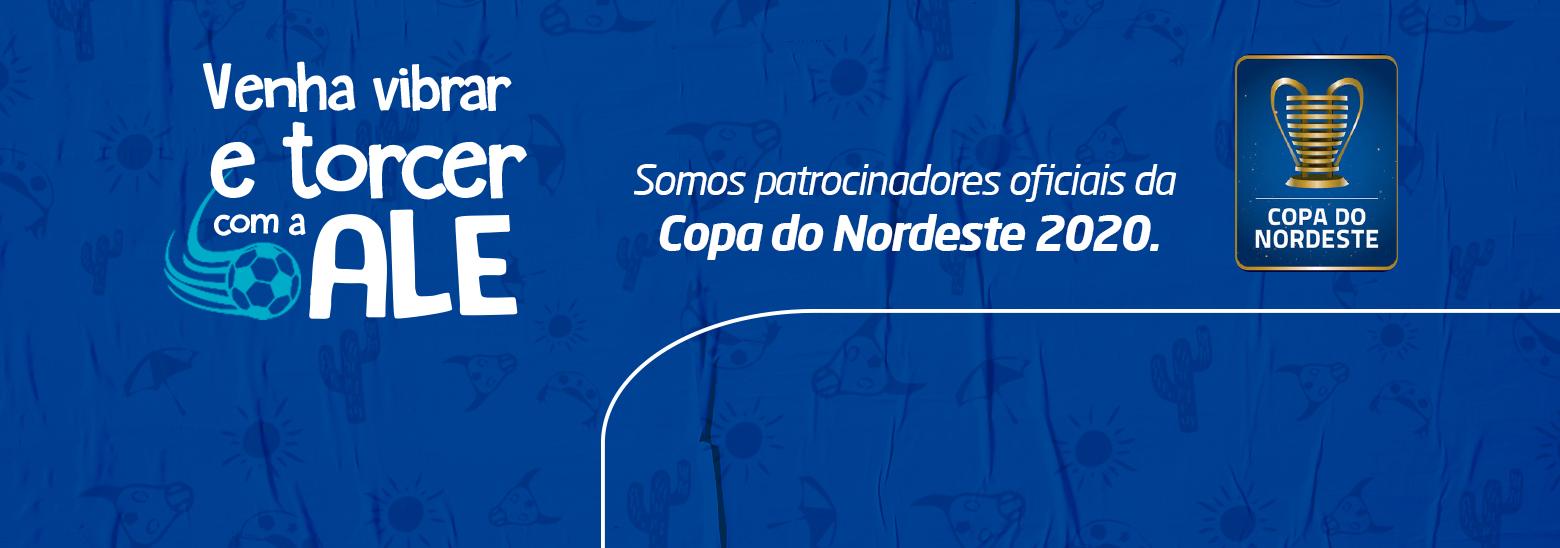 ALE expande investimentos em patrocínio esportivo: Copa do Nordeste
