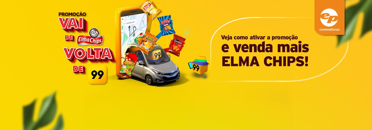 Promoção vai de Elma Chips volta de 99