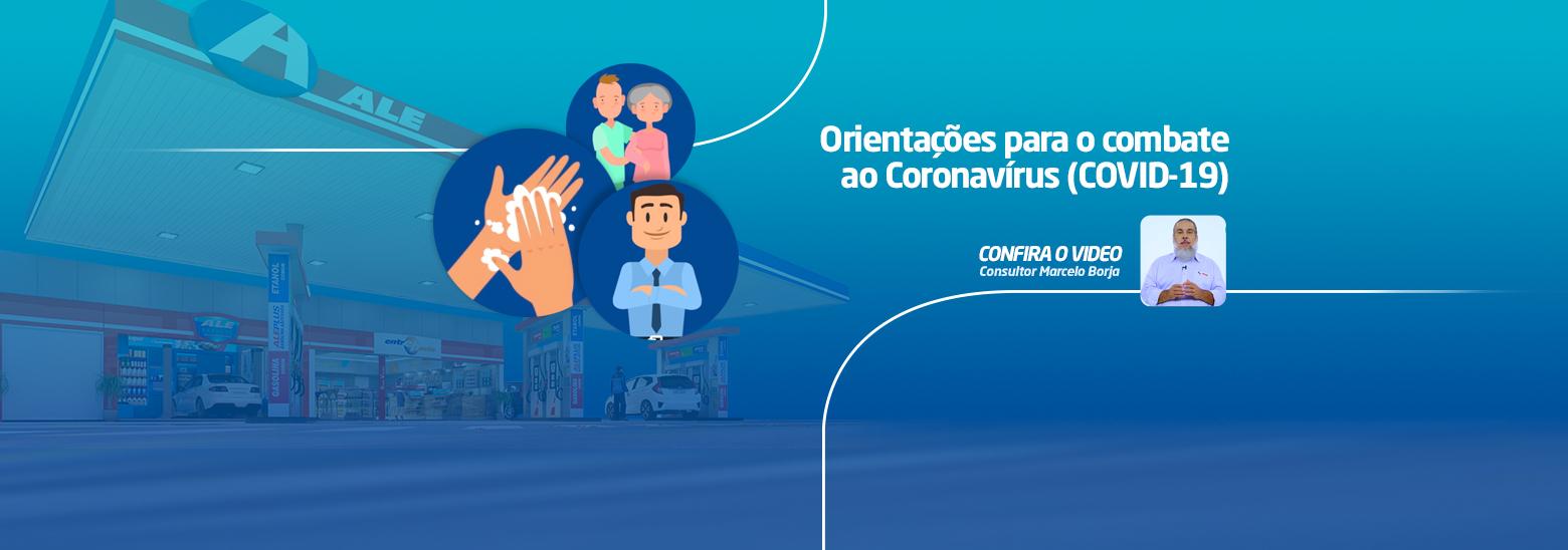 Orientações para o combate ao COVID-19