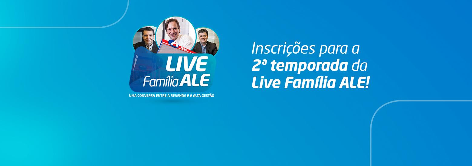 Live com a Família ALE: segunda temporada já tem data marcada