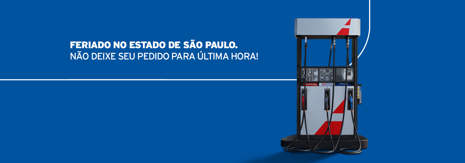 Feriado em São Paulo. Programe seus pedidos!