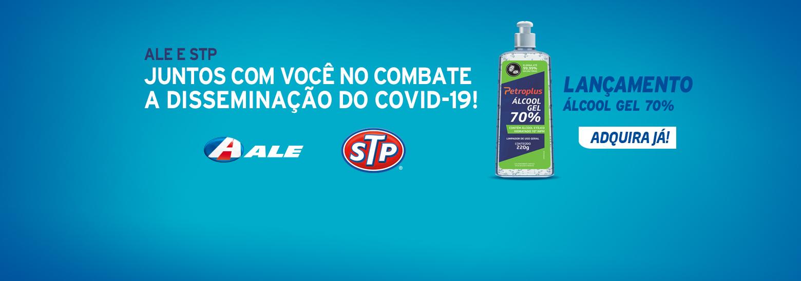 ALE e STP, juntos com você no combate a disseminação do Covid-19!