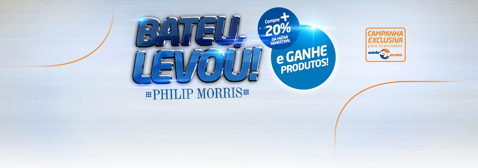 Bateu Levou Philip Morris!!