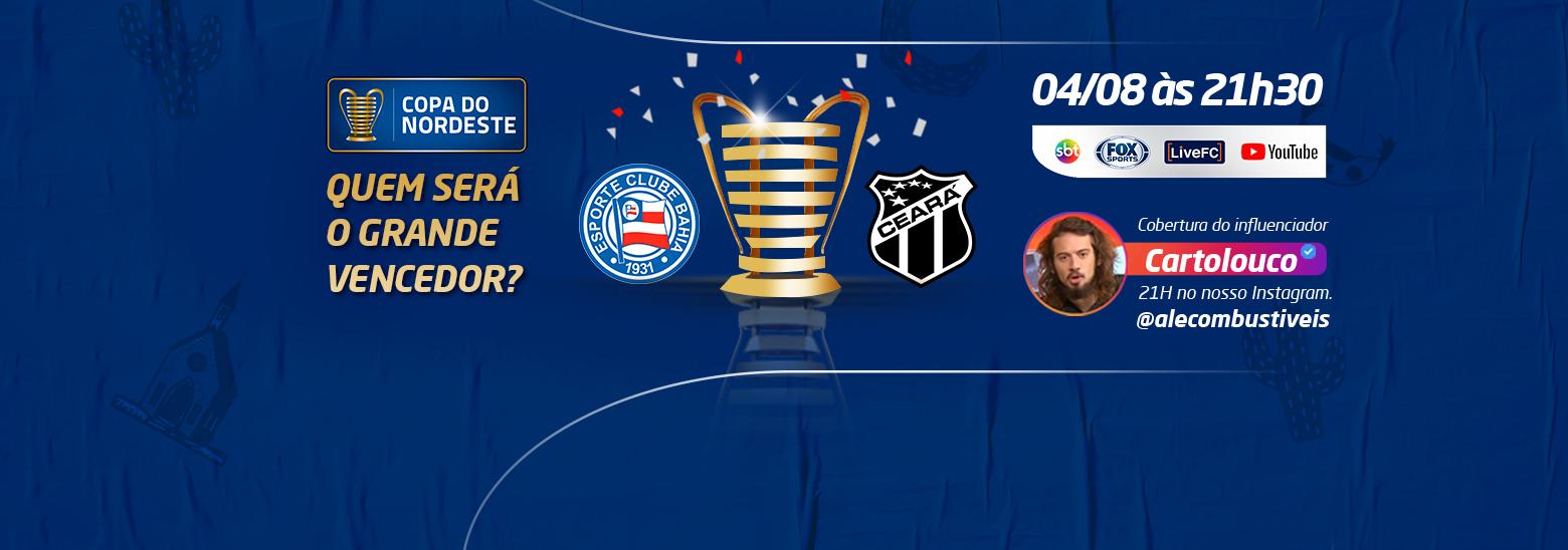 Quem será o grande campeão da Copa do Nordeste? 🔥🏆⚽