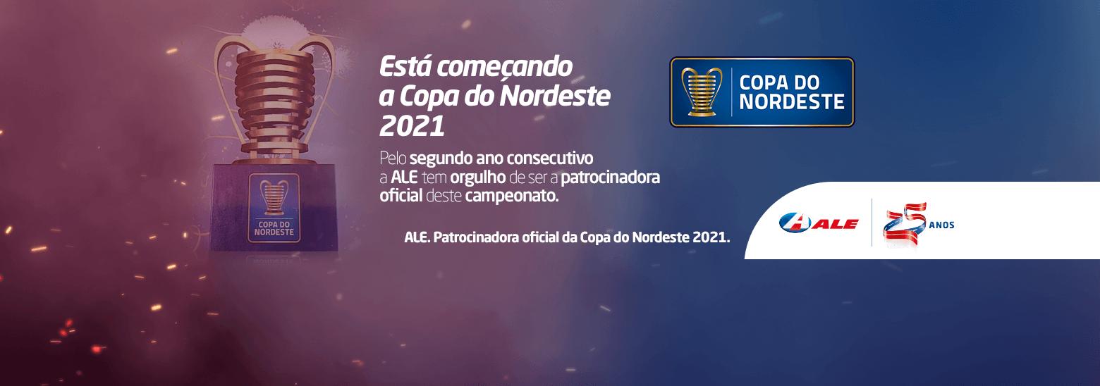 Está começando a Copa do Nordeste 2021