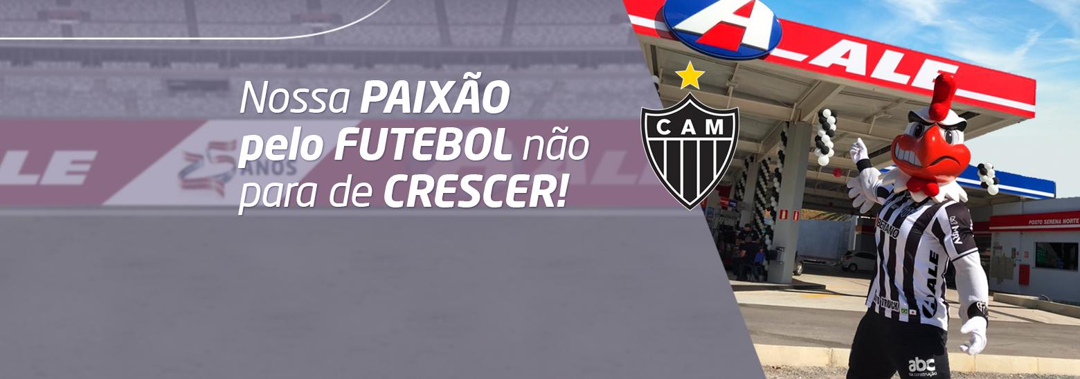 A nossa paixão pelo futebol não para!